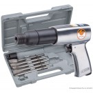 Air Hammer Kit with 5 Chisels - Heavy duty