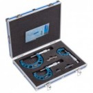 Accud 0-75mm Micrometer Set 3pce