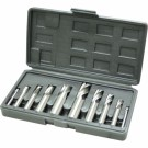 Alcock HSS Slot Drill / End Mill Set 10 Piece Metric