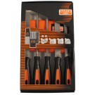 Bahco 5 Piece File Set