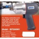 Basso Basso 1/2 inch Impact Wrench 685ft lbs max torque