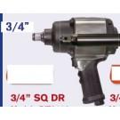 Basso 3/4 inch Impact Wrench (Aluminium)