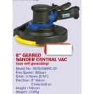 Basso 8 inch  Sander 900rpm 3/16 orbit Central Vac