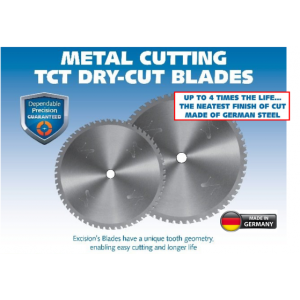 Excision Dry Cut TCT Blades
