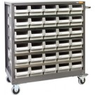 Geiger 30 Drawer Parts Cabinet. 980W mm x 400D mm x 1010H mm