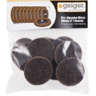 Geiger 50mm Brown-Coarse Abrasive Pkt 10 [To Suit SI2201 and SI2210R]