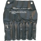 6 Piece Hollow Punch Set
