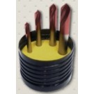 Guhring HSS Spotting Drill Set (FIRE COATED)