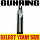Guhring 2 Flute Slot Drill 3.0mm to 20.0mm