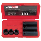 Metrinch 6 Piece 1/2 Inch Wheel Nut Socket Set
