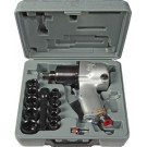 Shinano 1/2 Inch Air Impact Wrench Double Hammer