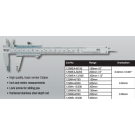 Starrett 125MA-12/300 Vernier Caliper 300mm .02mm Grad