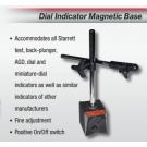 Starrett 3657AA Magnetic Base W/ Attachments A/ B/ C/ D/ E/ F