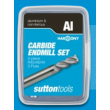 Sutton Harmony Aluminium E400 4 Piece Set