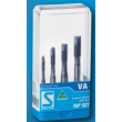 Sutton 4 Piece Metric VA Gun Tap Set for Stainless Steel