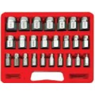 RyTool 25 Pcs Multi-Spline Extractor Set