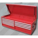 White International Tool Chest 9 Drawer Ball Bearing Top Gun