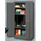 White International Storage Cabinet Grey Hammer 1.68m